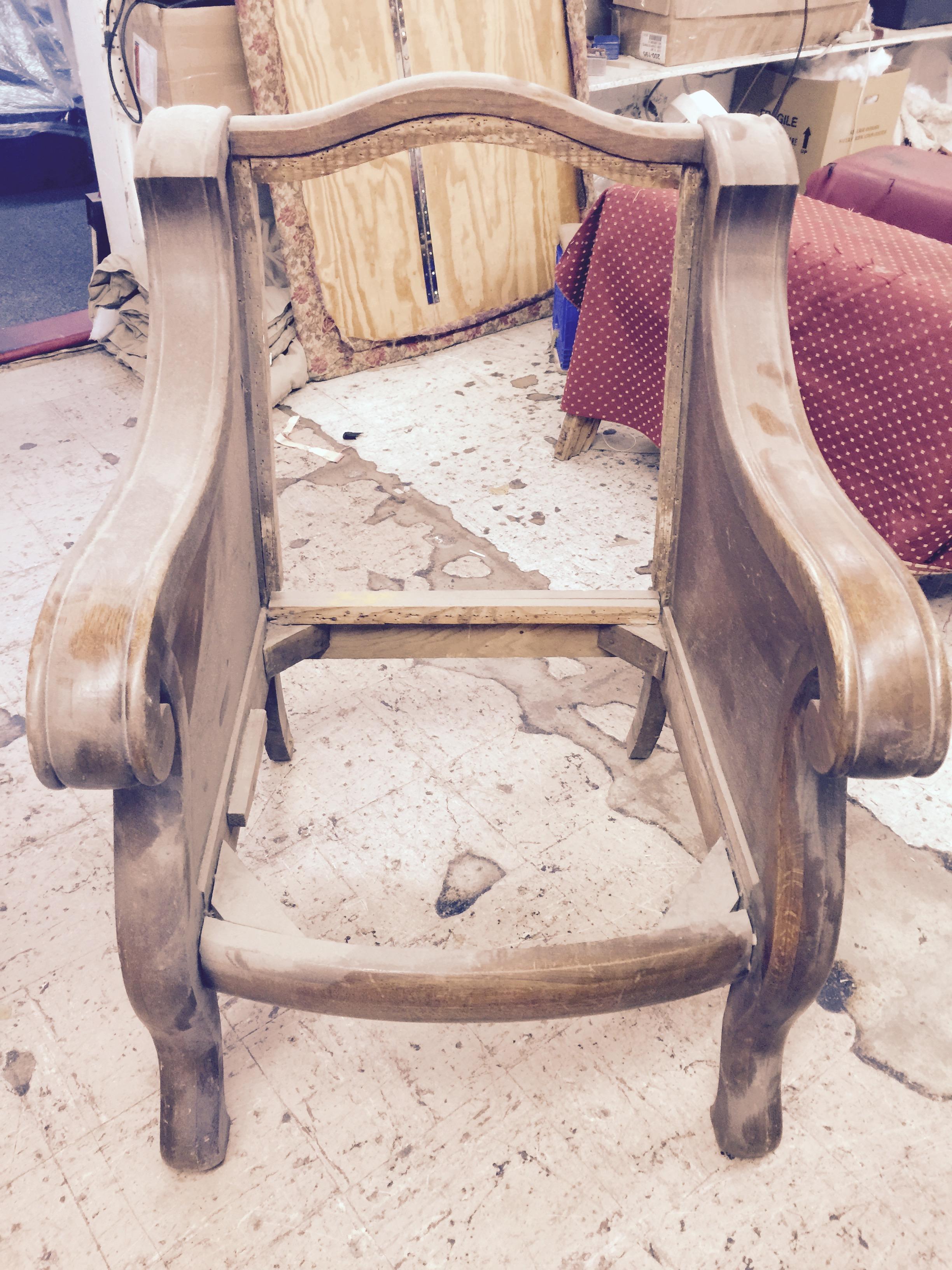 Custom Chair Upholstery Work